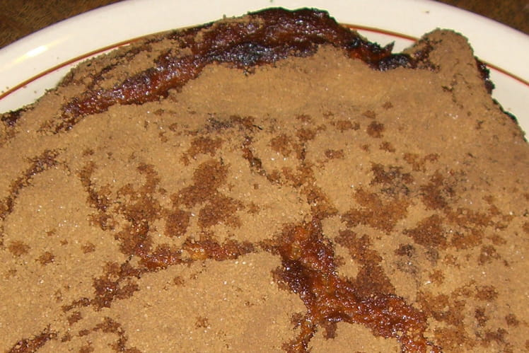Grand muffin au miel et à la cannelle