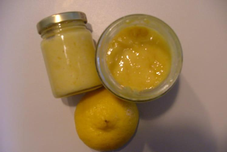 Crème de citron (ou lemon curd ) légère