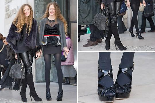 Fashion week : les street looks des défilés parisiens PAP automne-hiver 2011-2012 6