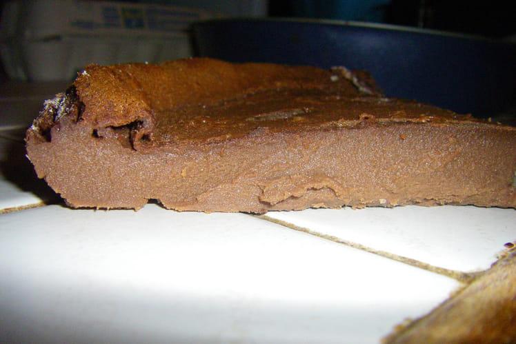 Flognarde fondante tout chocolat