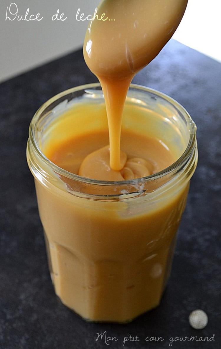 Recette de confiture de lait dulce de leche la recette facile - Recette avec confiture de lait ...