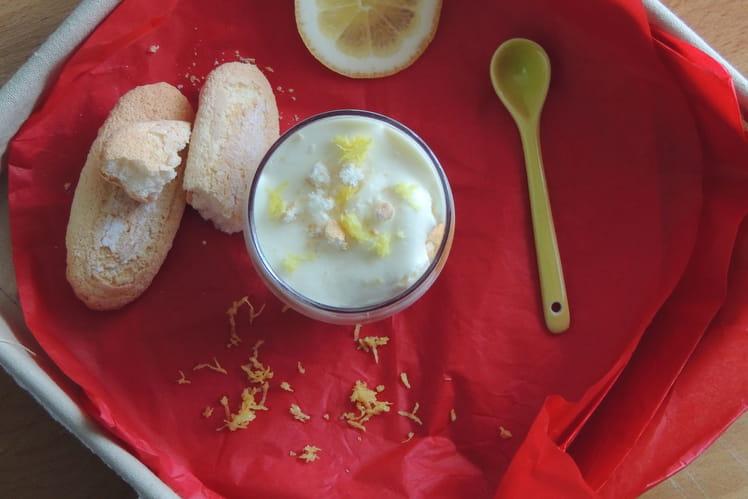 Mousse acidulée citron et mascarpone