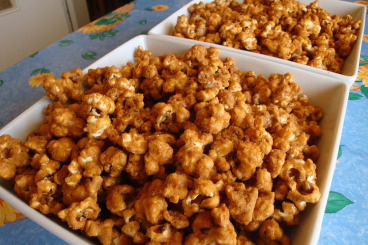 Toffee pop corn