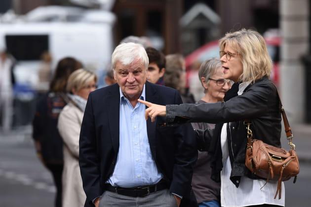 Jacques Perrin et Laurence Piquet