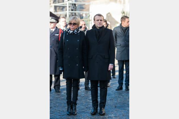 Brigitte Macron le 9décembre 2017