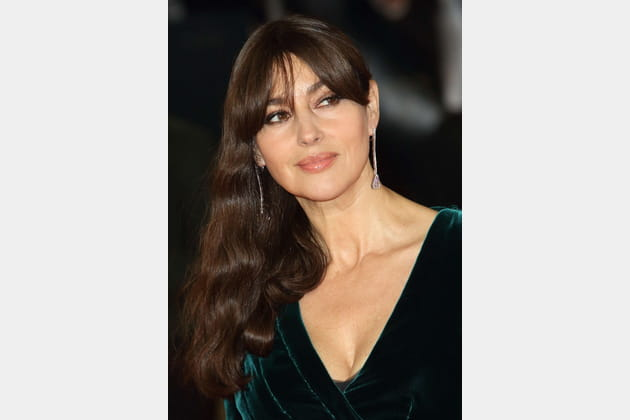 Les boucles chics de Monica Bellucci