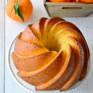 bundt cake orange, amande et miel