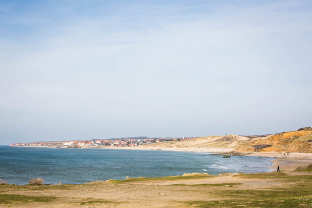 Les plages de la dune de la Slack