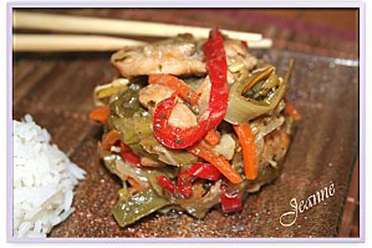 Chop-suey au poulet