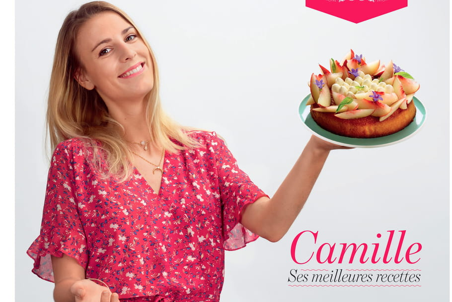 Le Meilleur Pâtissier: le livre de recettes de Camilleà découvrir
