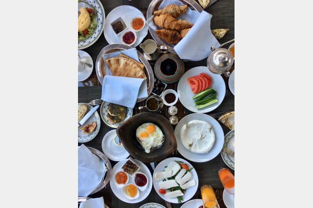 Petit déjeuner libanais