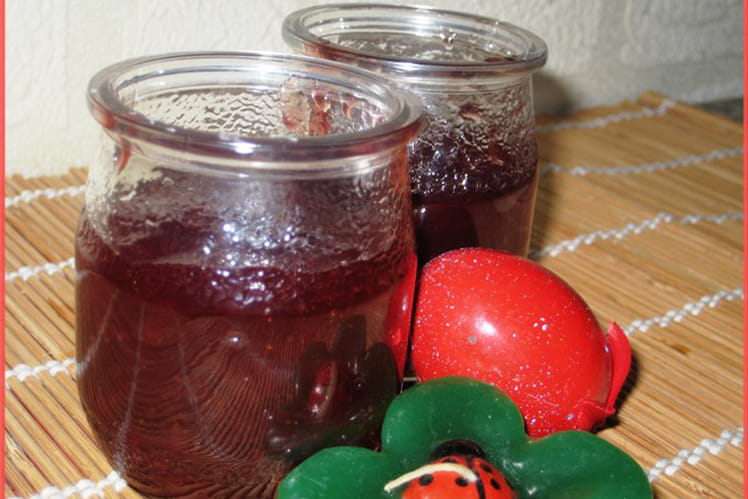 Confiture de fraises ultra simple