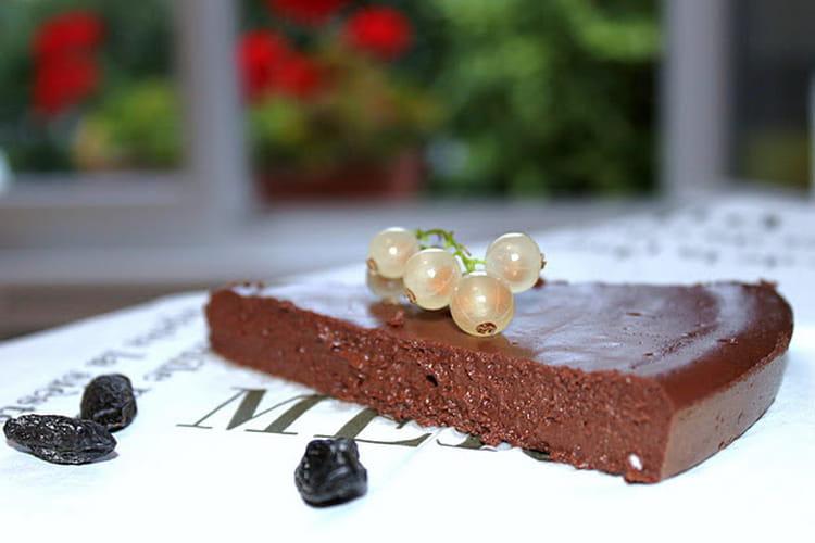 Mousseux au chocolat noir et fève tonka