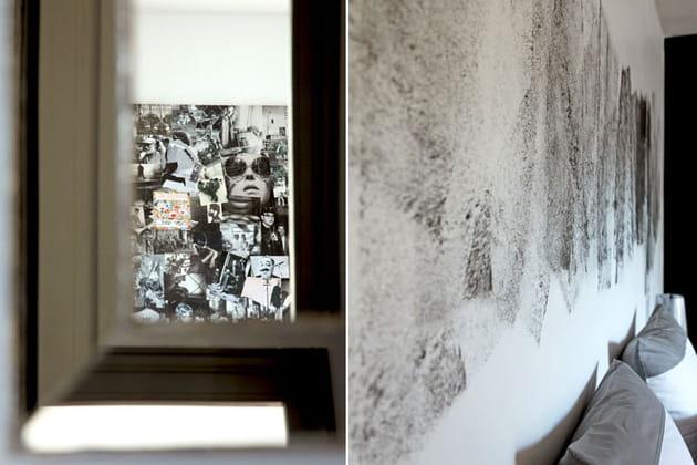 Détails black and white