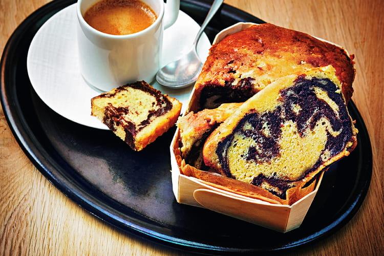 Cake marbré d'Eric Frechon