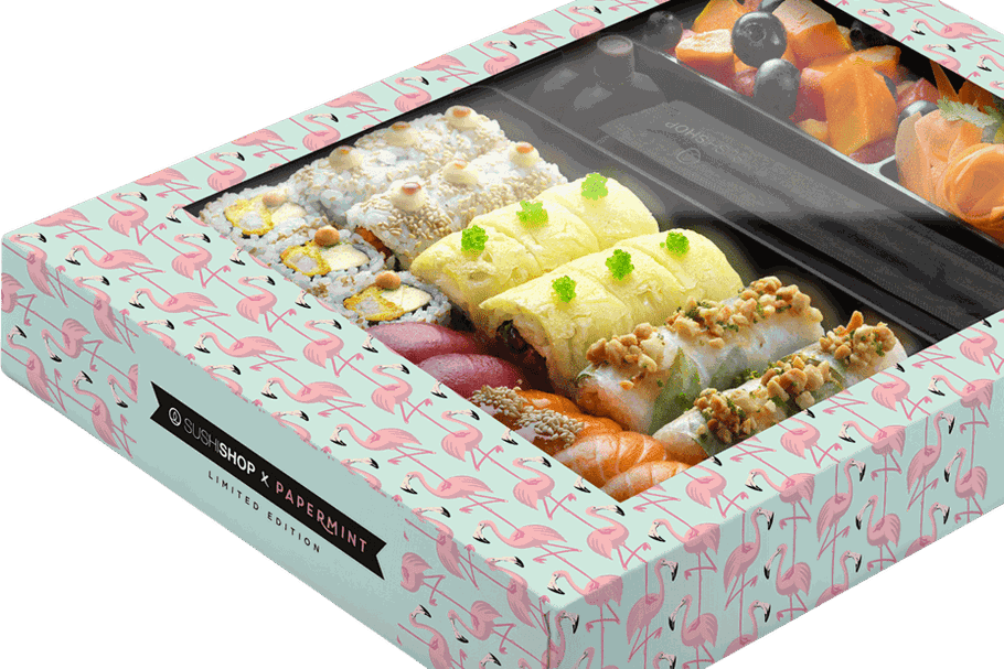 Sushi Shop : la Summer Box nous faire voir la vie en flamant rose