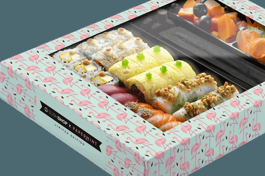 Sushi Shop: la Summer Box nous faire voir la vie en flamant rose