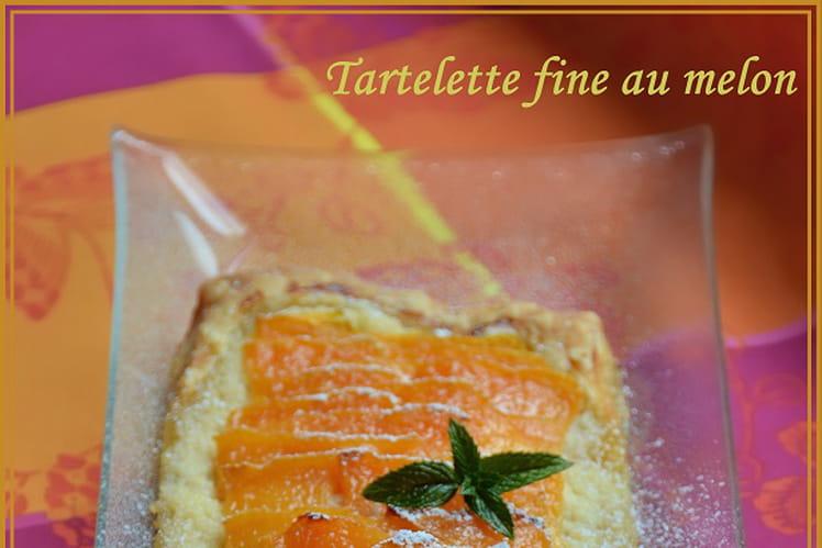 Tartelette fine au melon