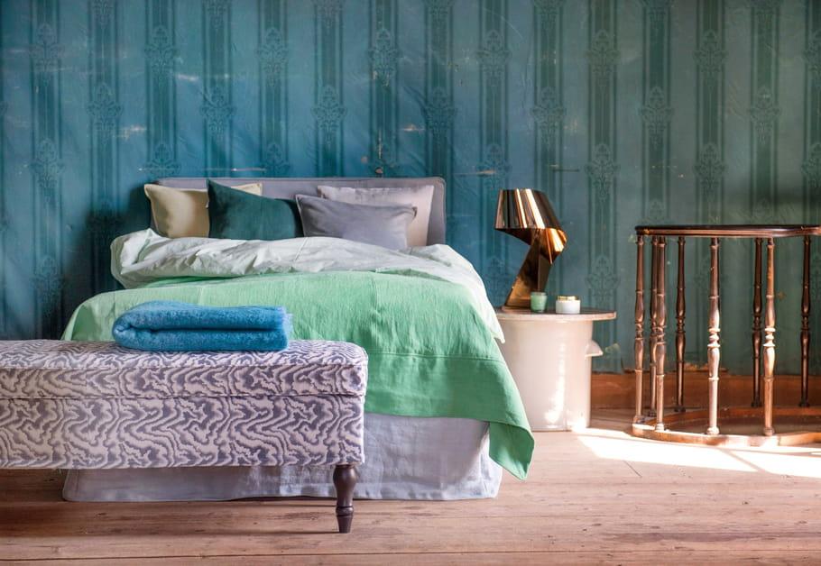 linge de lit bemz les nouveaux canap s ikea relook s par bemz journal des femmes. Black Bedroom Furniture Sets. Home Design Ideas