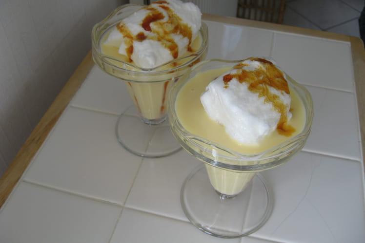 Iles flottantes et leur crème anglaise
