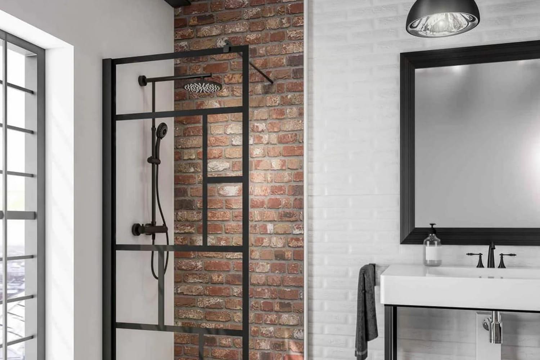 Salle de bains industrielle: inviter le style atelier côté pièce d'eau