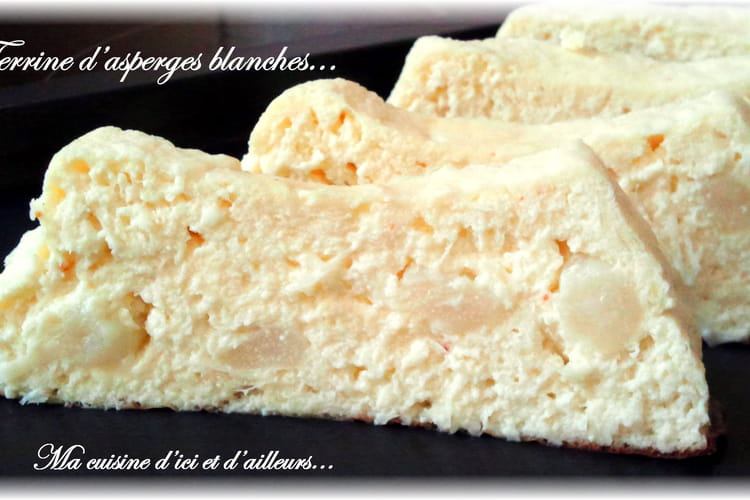 Terrine d'asperges blanches