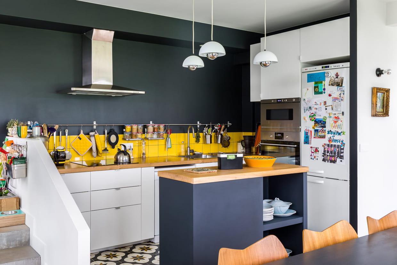 Des inspirations pour votre cuisine avec îlot central