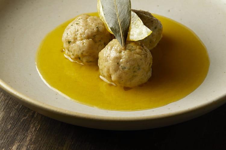 Boulettes de veau au citron par le chef Cyril Lignac