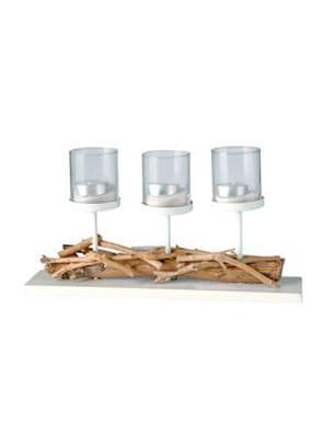 le centre de table en pin de truffaut