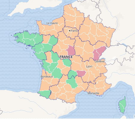 carte test covid france