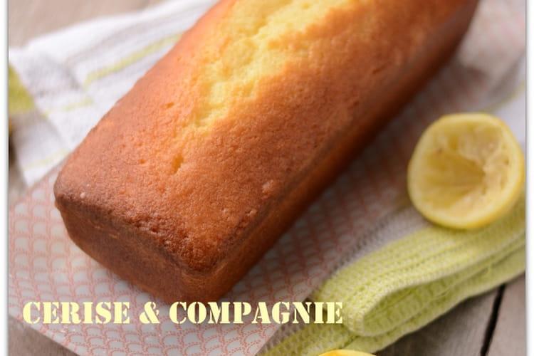 Cake au citron super moelleux de Pierre Hermé