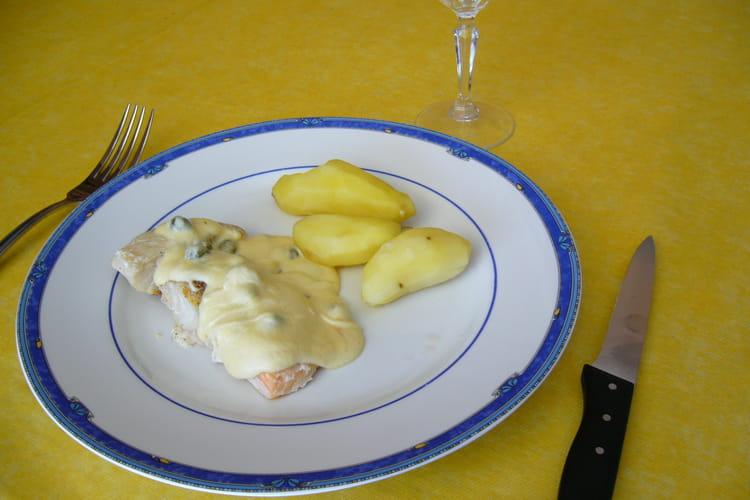 Trio de poissons, sauce aux câpres