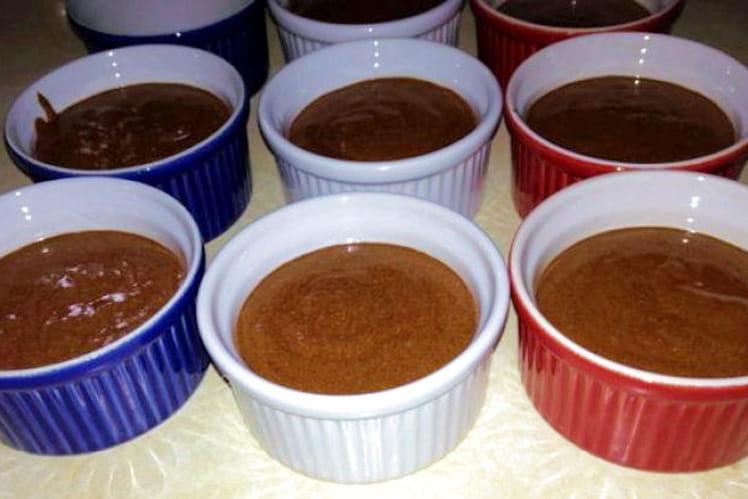 Mousse au chocolat avec alcool