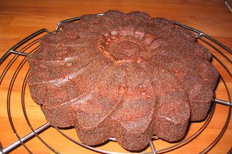 Cake choco minute