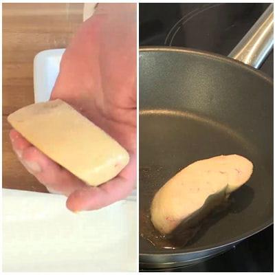 la cuisson du foie gras