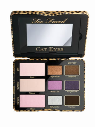 palette cat eyes de too faced.