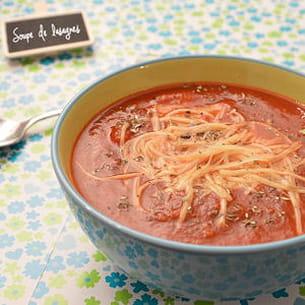 soupe de lasagnes