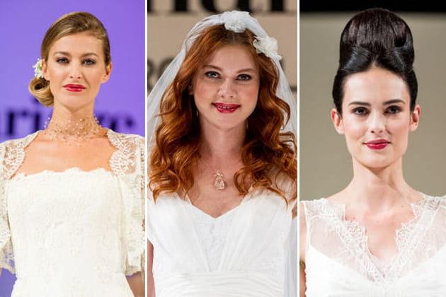 Les coiffures de mariées 2013 au Carrousel du Louvre