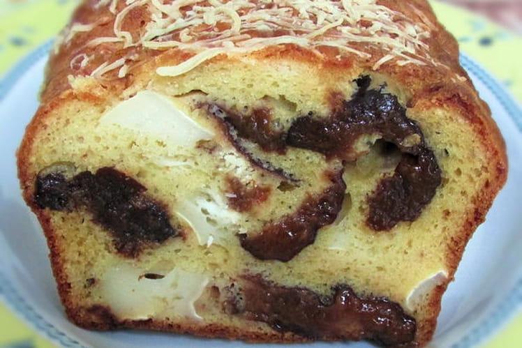 Cake pruneaux-chèvre