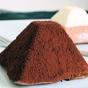 dôme aux deux chocolats