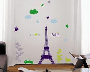 sticker 'i love paris' de lambert-zorn-cailloux chez nouvelles images