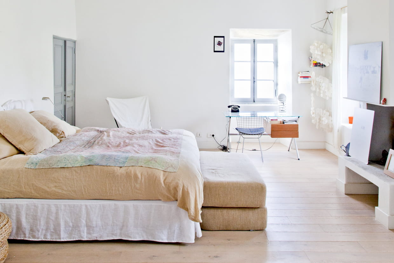 Chambre Couleur Gris Blanc chambre blanche : le top 60 des plus belles pièces