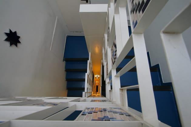 Des escaliers mis en valeur