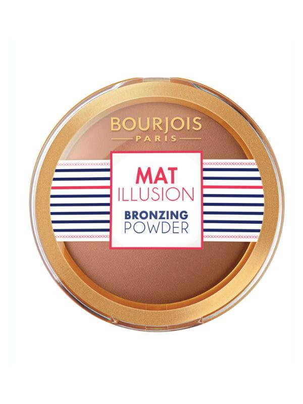 mat illusion bronzing powder bourjois. Black Bedroom Furniture Sets. Home Design Ideas