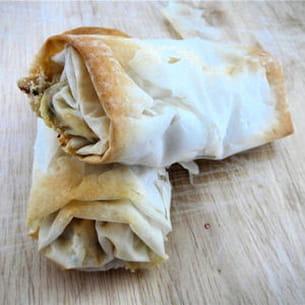 nems chèvre-menthe au piment d'espelette