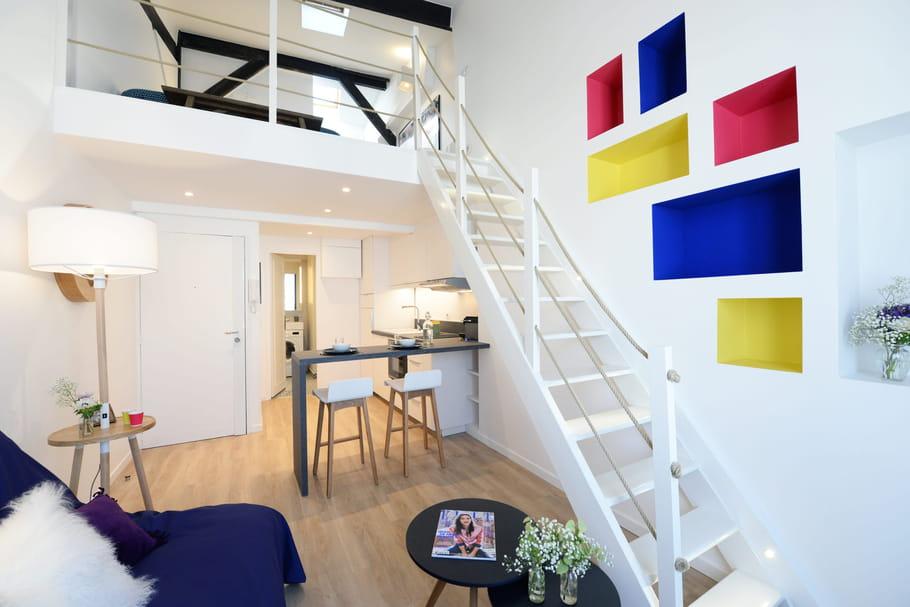 Duplex: aménager et décorer ce type d'appartement avec escalier