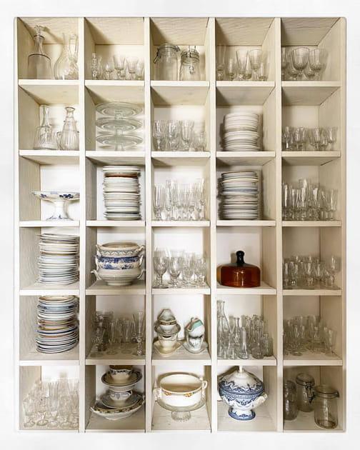 De la vaisselle vintage à disposition