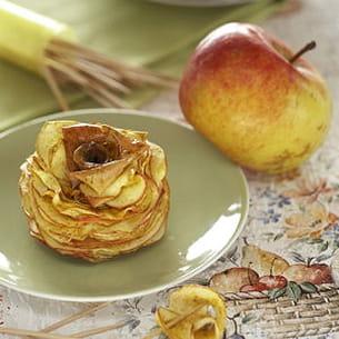 chips de pommes... en l'air aux épices