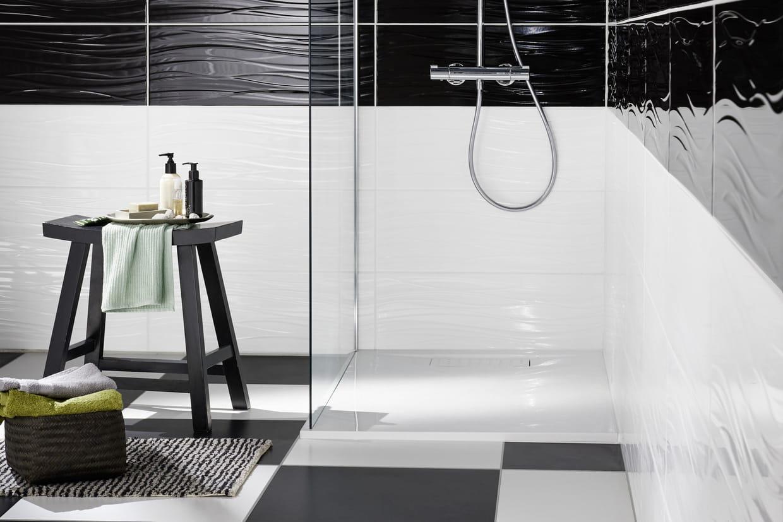 Recouvrir Frise Carrelage Salle De Bain comment choisir le carrelage de sa salle de bains ?