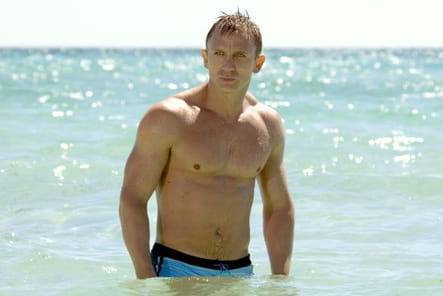 Daniel Craig, l'animal
